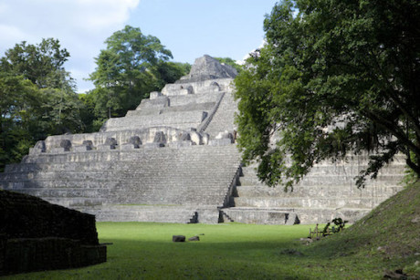 Caracol Mayan ruins in Cayo, Belize