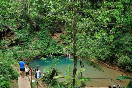 Inland Blue Hole